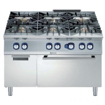 Electrolux -  6 égős tűzhely, sütővel