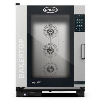 UNOX BakerTop elektromos PLUS 10 tálcás cukrászati sütő