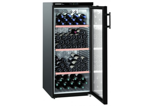 Liebherr WKb 3212 borklíma szekrény  164 palackos