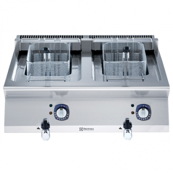 Electrolux - elektromos asztali olajsütő 12+12 lt-es