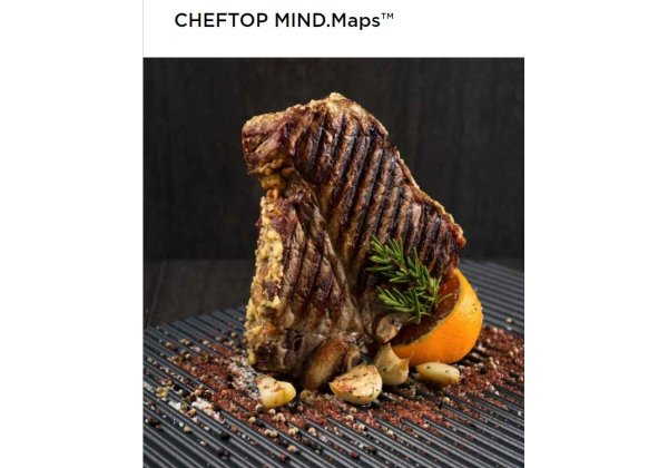 UNOX ChefTop PLUS kombi pároló sütő 5*GN 1/1