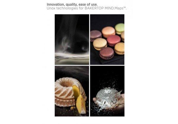 UNOX BakerTop elektromos PLUS 4 tálcás cukrászati sütő