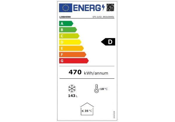 Liebherr EFI 2153 Fagyasztóláda  206 literes