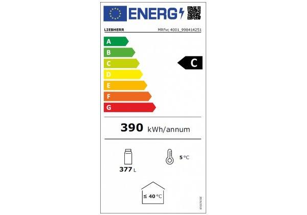 Liebherr MRFvd4001 hűtőszekrény 377lt