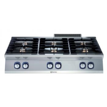Electrolux - 6 égős asztali gáztűzhely