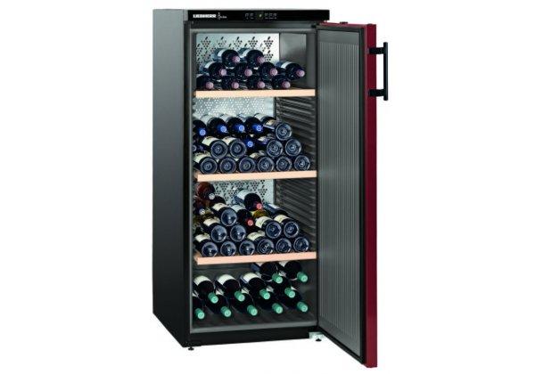 Liebherr WKr 3212 borklíma szekrény  164 palackos
