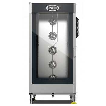 UNOX - ChefLux elektromos kombisütő  20*GN1/1 manual