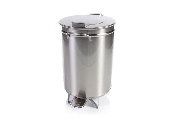 Pedálos lábpedálos hulladéktároló 50 lt
