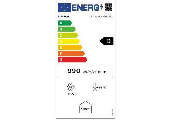 Liebherr EFI 4853 Fagyasztóláda  488 literes
