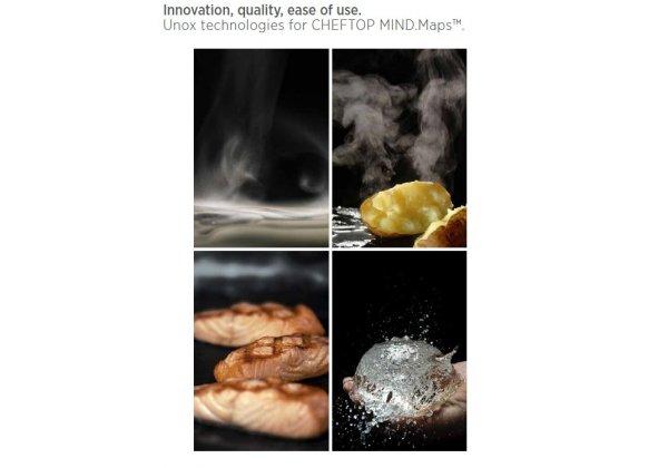 UNOX ChefTop ONE kombi pároló sütő 5*GN 1/1