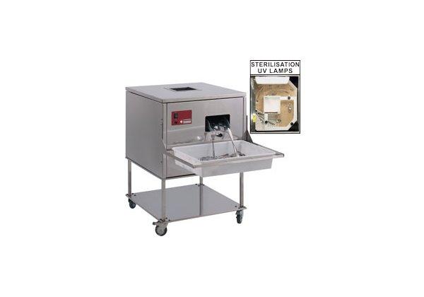 Diamond evőeszközpolírozó gép 7000 db/óra