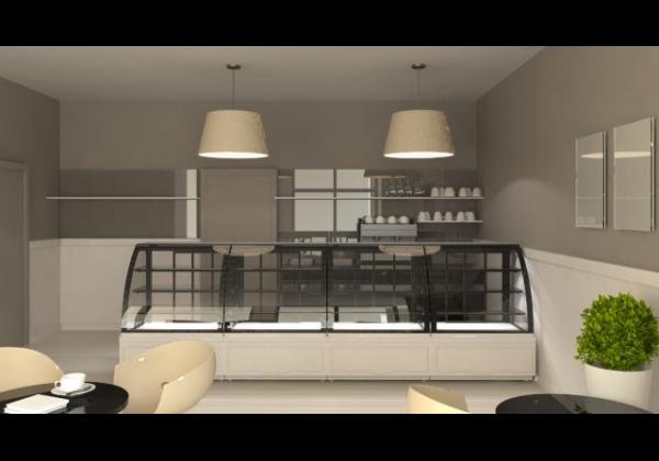 Cool LCC CARINA 03 -  süteményes pult ventilációs hűtés