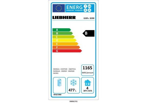 Liebherr GGPv 6590 mélyhűtőszekrény 601 lt