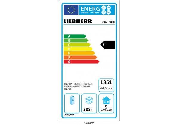 Liebherr GGv 5860 mélyhűtőszekrény 547 lt